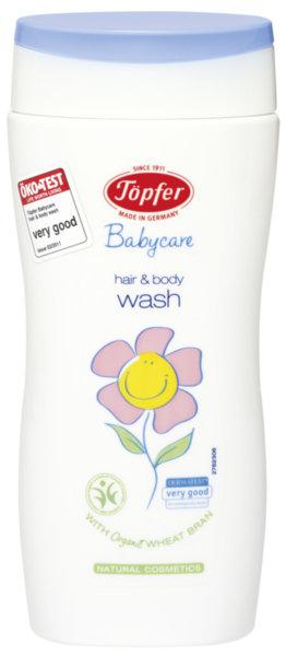 Topfer Бебешки измиващ гел за коса и тяло (пш. трици и невен) 200 мл.